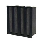 COMPACT FILTER, ACTIVATED CARBON PELLET STYLE, 288 X 592 X 292MM
