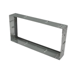 HOLDING FRAME, GALVANISED, W/ CLIPS, 305 X 610 X 97MM