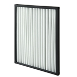 PLASTIC FRAME, PLEATED, FILTER, G4, 287 x 592 x 25MM (12 x 24 x 1